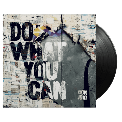 √Do What You Can (Excl. 7'' Single) von Bon Jovi - LP jetzt im Bravado Shop