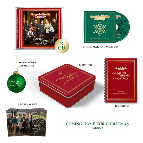 √Coming Home For Christmas (Ltd. Fanbox) von Angelo Kelly & Family - Box set jetzt im Bravado Shop