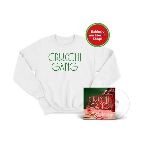 √Crucchi Gang (CD + Sweater Weiß) von Crucchi Gang - CD-Bundle jetzt im Bravado Shop