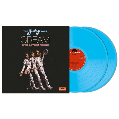 Goodbye Tour - Live At The Los Angeles Forum 1968 (Ltd. Colour 2LP) von Cream - 2LP jetzt im Bravado Shop