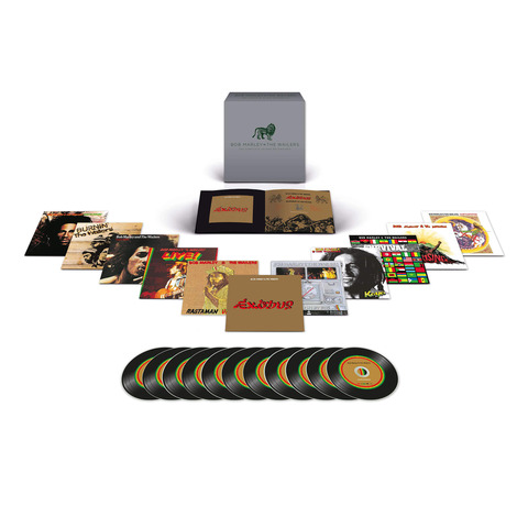 √The Complete Island Recordings (11 CD Boxset) von Bob Marley & The Wailers - Box set jetzt im Bravado Shop