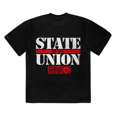 STATE OF THE UNION von Public Enemy - T-Shirt jetzt im Bravado Shop