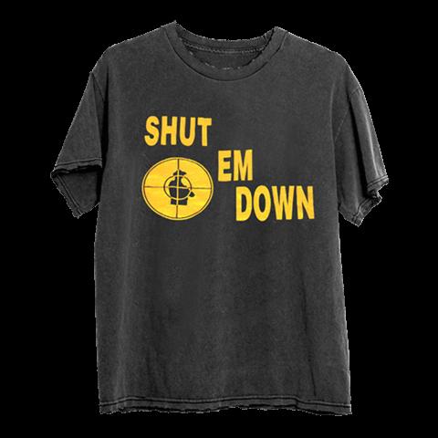 SHUT EM DOWN von Public Enemy - T-Shirt jetzt im Bravado Shop