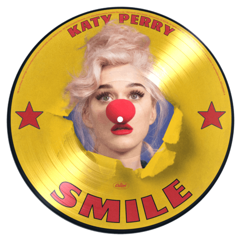√Smile (Ltd. Picture Disc LP + Signed Art Card) von Katy Perry -  jetzt im Bravado Shop
