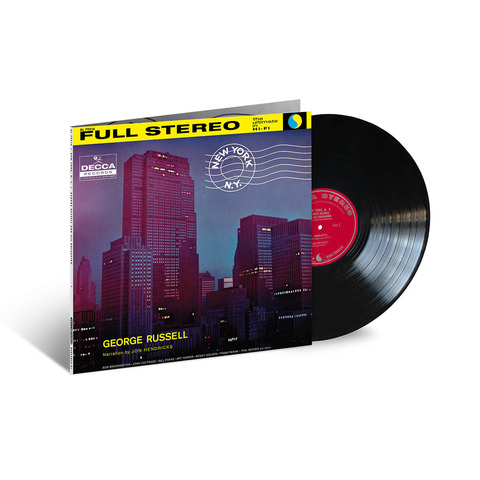 New York. N.Y. (Acoustic Sounds) von George Russell - LP jetzt im Bravado Shop