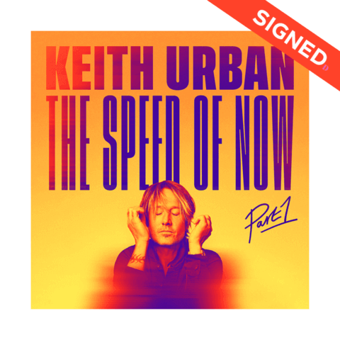 √THE SPEED OF NOW Part 1 (CD + Signed Card) von Keith Urban - CD Bundle jetzt im Bravado Shop