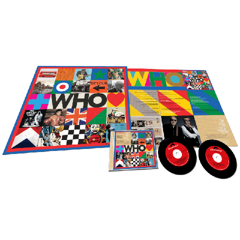 √WHO (Deluxe 2CD with Live At Kingston) von The Who - 2CD jetzt im Bravado Shop