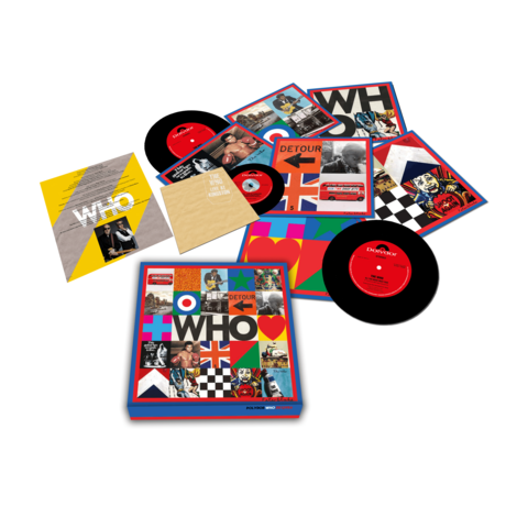 √WHO (7'' Boxset with Live At Kingston) von The Who -  jetzt im Bravado Shop