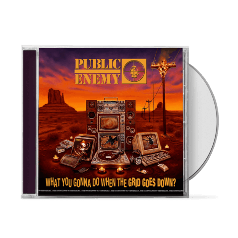 What You Gonna Do When The Grid Goes Down von Public Enemy - CD jetzt im Bravado Shop