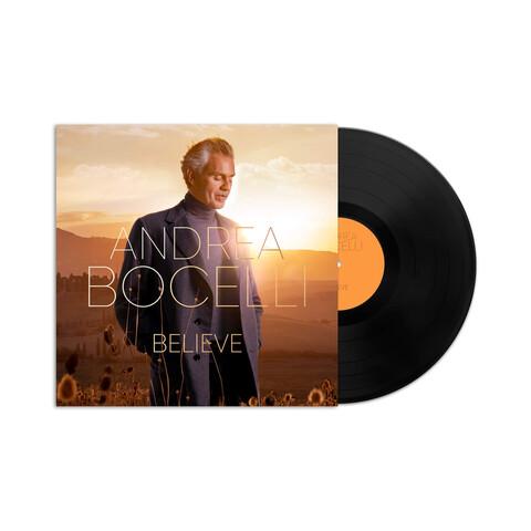 Believe von Andrea Bocelli - LP jetzt im Bravado Shop