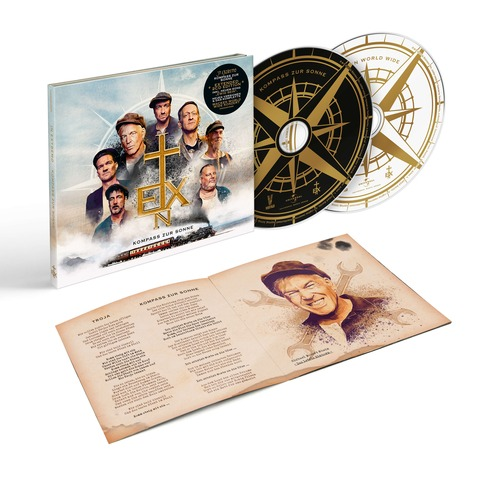 √Kompass zur Sonne (Extended Edition) von In Extremo - CD jetzt im Bravado Shop