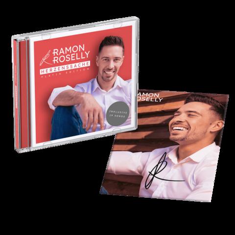 √Herzenssache (Platin Edition + exklusive, handsignierte Autogrammkarte) von Ramon Roselly - CD jetzt im Bravado Shop
