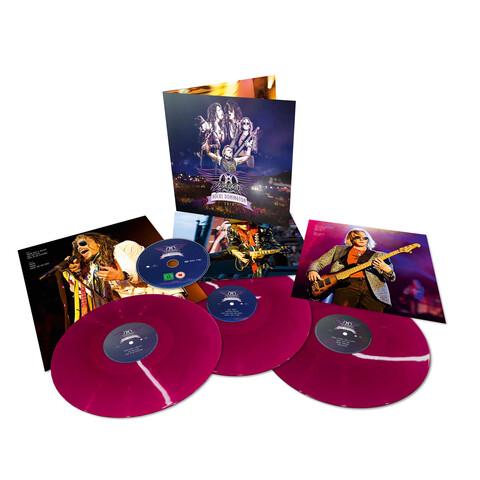 Rocks Donington 2014 (Coloured 3LP+DVD) von Aerosmith - 3LP Coloured jetzt im Bravado Shop