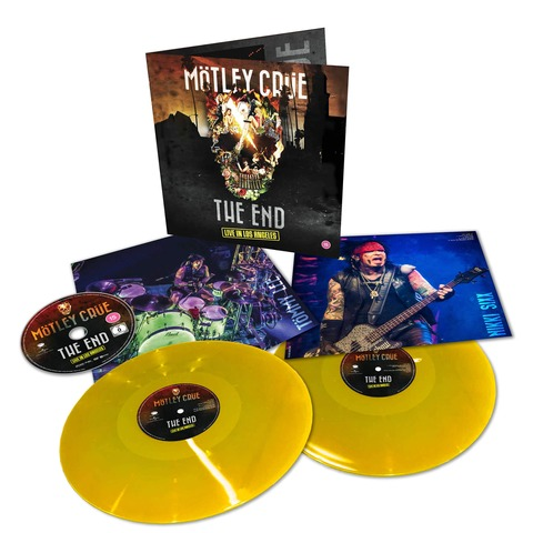√The End - Live in Los Angeles (Ltd. Coloured 2LP+DVD) von Mötley Crüe -  jetzt im Bravado Shop