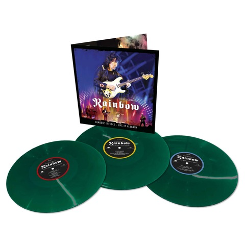 √Memories In Rock - Live In Germany (Ltd. Coloured 3LP) von Ritchie Blackmore's Rainbow - 3LP jetzt im Bravado Shop