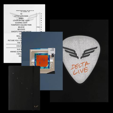 Delta Diaries (Ltd. CD Book) von Mumford & Sons - CD jetzt im Bravado Shop