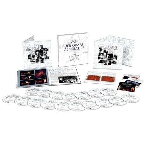 The Charisma Years (17CD+3BD Boxset) von Van Der Graaf Generator - Boxset jetzt im Bravado Store
