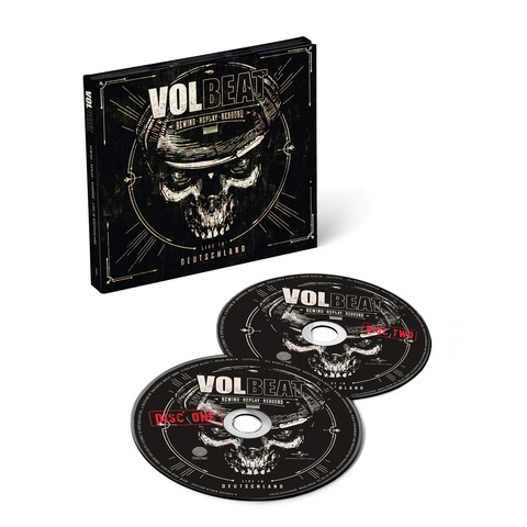 Rewind, Replay, Rebound: Live In Deutschland (2CD) von Volbeat - 2CD jetzt im Bravado Shop
