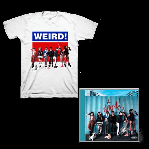 √Weird! (CD + Signed Card + T-Shirt) von Yungblud - CD Bundle jetzt im Bravado Shop