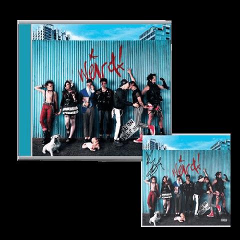 √Weird! (CD + Signed Card) von Yungblud - CD Bundle jetzt im Bravado Shop