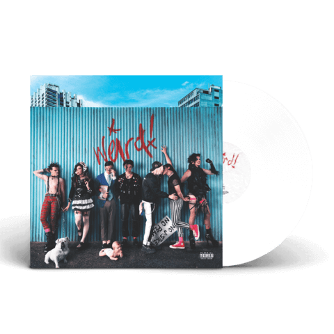 √Weird! (White LP + Signed Card) von Yungblud - LP Bundle jetzt im Bravado Shop