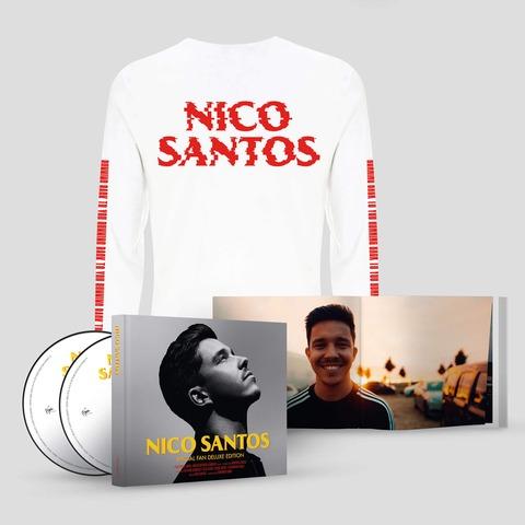 √Nico Santos (Ltd. Special Fan Deluxe Edition + Longsleeve Bundle) von Nico Santos - CD-Bundle jetzt im Bravado Shop