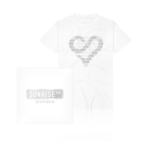 √The Very Best Of (CD/DVD + T-Shirt) von Sunrise Avenue - CD Bundle jetzt im Bravado Shop
