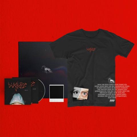 √Bugtape (Ltd. Bundle: Vinyl, CD, Shirt, Poster, Sticker) von DISSY - music bundle jetzt im Bravado Shop