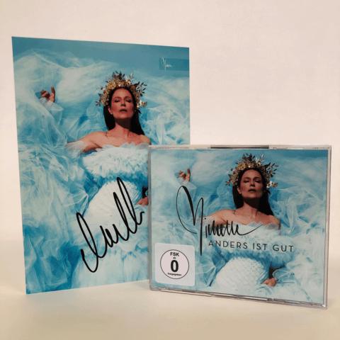 √Anders ist gut (Ltd. 3CD+DVD Super Deluxe + handsigniertem Fotoprint) von Michelle - 3CD + DVD jetzt im Bravado Shop