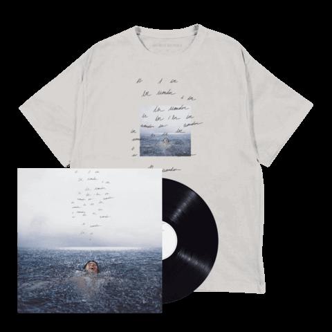 √WONDER (STANDARD LP + WONDER T-SHIRT) von Shawn Mendes - LP-Bundle jetzt im Bravado Shop