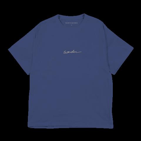 √WONDER SCRIPT von Shawn Mendes - T-Shirt jetzt im Bravado Shop