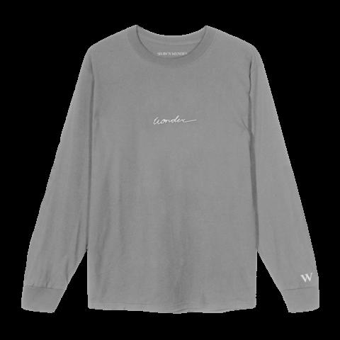 √WONDER SCRIPT II von Shawn Mendes - Long-sleeve jetzt im Bravado Shop