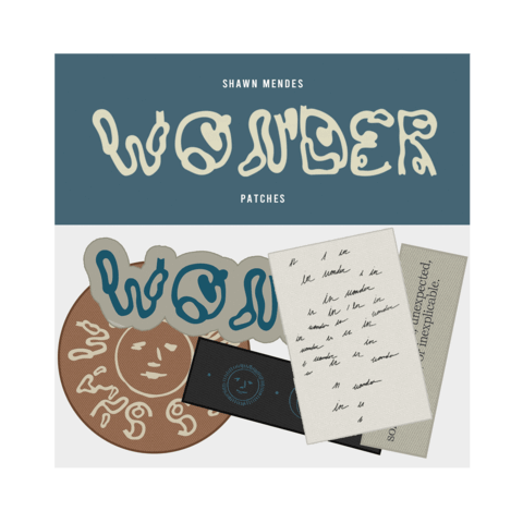 √WONDER von Shawn Mendes - Patch - Set jetzt im Bravado Shop