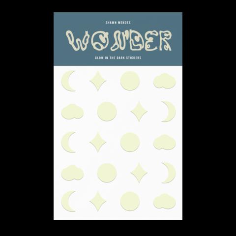 √WONDER GLOW IN THE DARK von Shawn Mendes - Sticker Pack jetzt im Bravado Shop