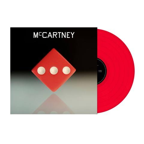 III (Exclusive Red Vinyl) von Paul McCartney - LP jetzt im Bravado Shop