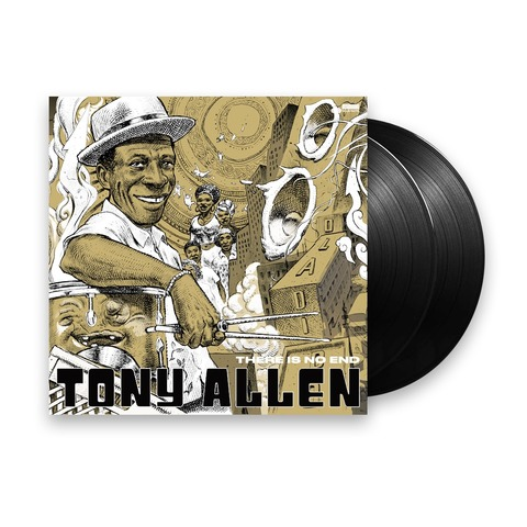 There Is No End (Excl. 2LP Collectors Edition) von Tony Allen - 2LP jetzt im Bravado Shop