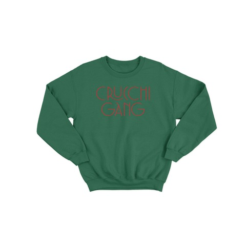 Crucchi Gang Sweater Grün von Crucchi Gang - Sweater jetzt im Bravado Shop