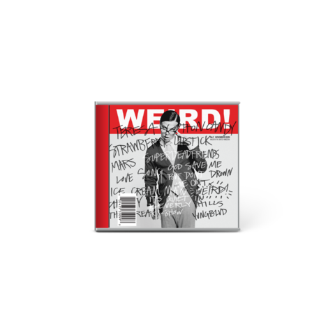 """√Weird! (Ltd. Edition Cover """"the geek"""") von Yungblud - CD jetzt im Bravado Shop"""