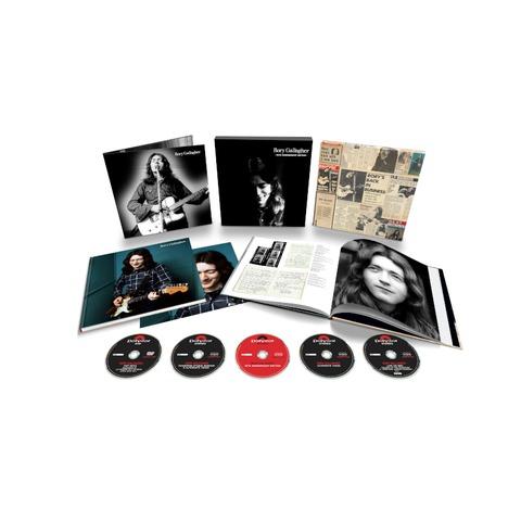 Rory Gallagher (50th Anniversary Edition) (4CD+1DVD Deluxe Set) von Rory Gallagher - Boxset jetzt im Bravado Store