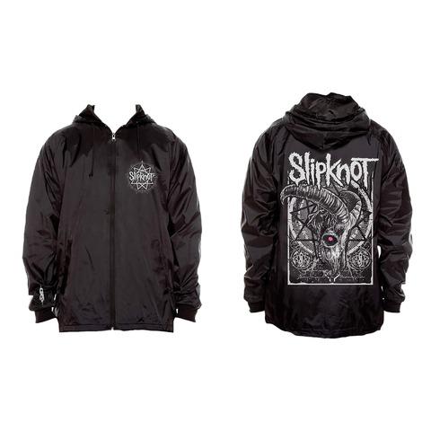 √Goat Skull von Slipknot - Coach Jacket jetzt im Bravado Shop