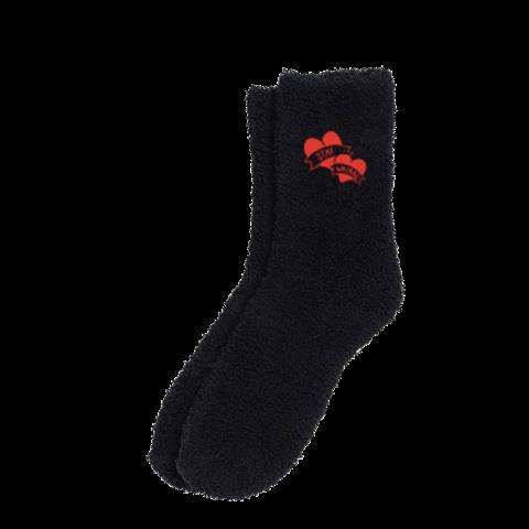 √Yungblud Stay Weird Black Fuzzy Holiday von Yungblud - socks jetzt im Bravado Shop
