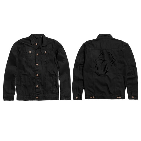 √BLACK ON BLACK von The Rolling Stones - Denim Jacket jetzt im Bravado Shop