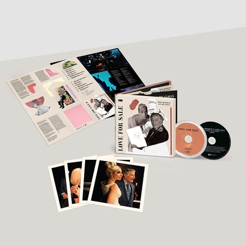 Love For Sale (International Deluxe 2CD) von Tony Bennett & Lady Gaga - 2CD jetzt im Bravado Store