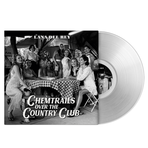 √Chemtrails Over The Country Club (Exclusive Transparent Vinyl) von Lana Del Rey - Coloured LP jetzt im Bravado Shop