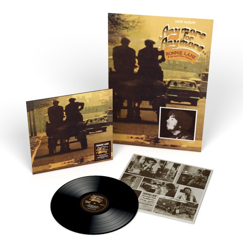 Anymore For Anymore (2021 Reissue LP) von Ronnie Lane - LP jetzt im Bravado Shop