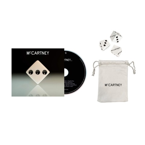 √III (Deluxe Edition White Cover CD + Dice Set) von Paul McCartney - CD + Dice Set jetzt im Bravado Shop