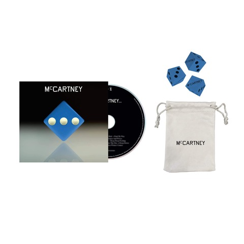 III (Deluxe Edition Blue Cover CD + Dice Set) von Paul McCartney - CD + Dice Set jetzt im Bravado Shop