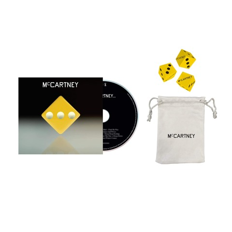 √III (Deluxe Edition Yellow Cover CD + Dice Set) von Paul McCartney - CD + Dice Set jetzt im Bravado Shop
