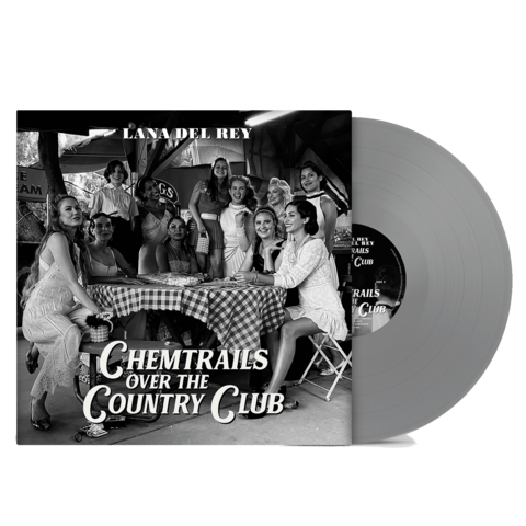 √Chemtrails Over The Country Club (Exclusive Grey Vinyl) von Lana Del Rey - Coloured LP jetzt im Bravado Shop