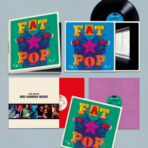 √Fat Pop (Excl. 3LP Boxset) von Paul Weller - 3LP Boxset jetzt im Bravado Shop